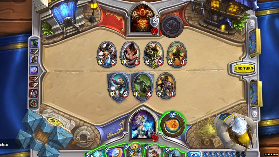 Gameplay of Hearthstone