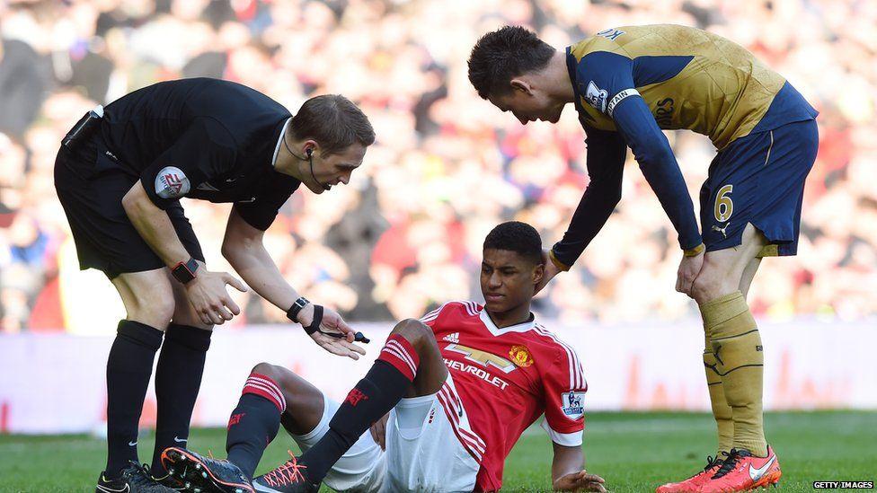 Gamers Want Fifa 2016 To Upgrade Manchester United S Marcus Rashford Bbc Newsbeat