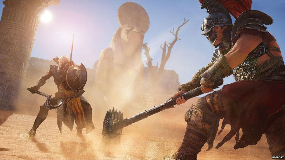 Screenshot from Assasin's Creed Origins