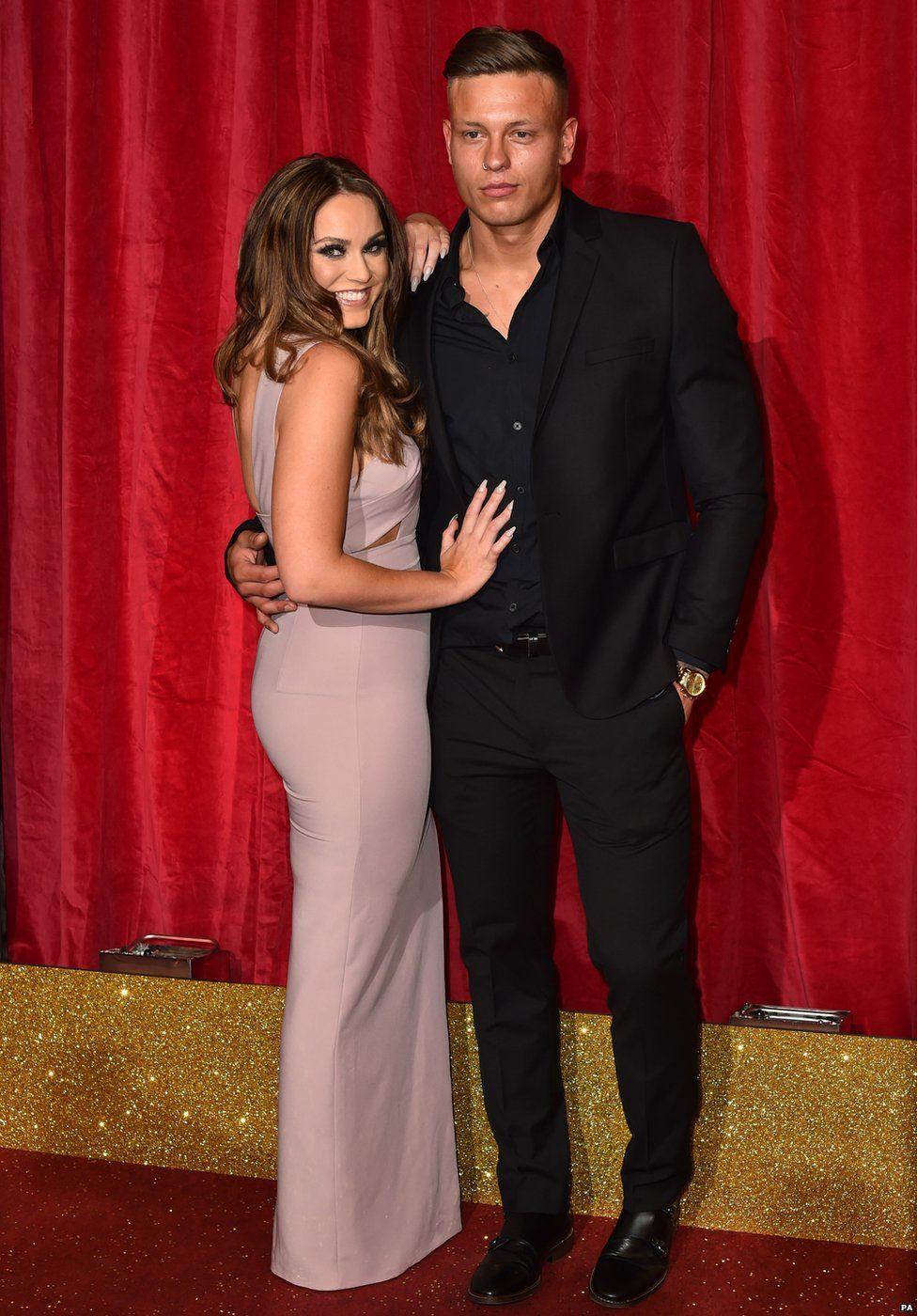 Vicky Pattison and Alex Bowen