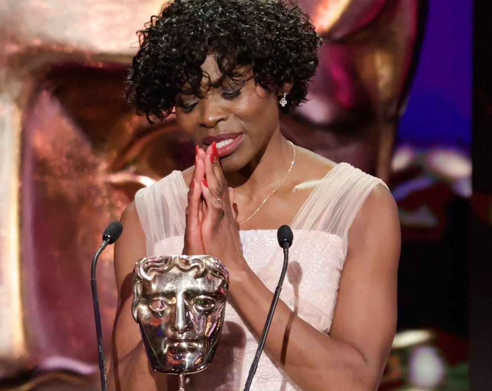 Rakie Ayola at the Bafta TV Awards