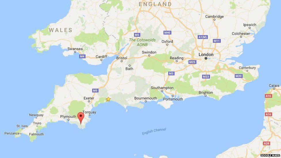 Kingsbridge in Devon on Google Maps