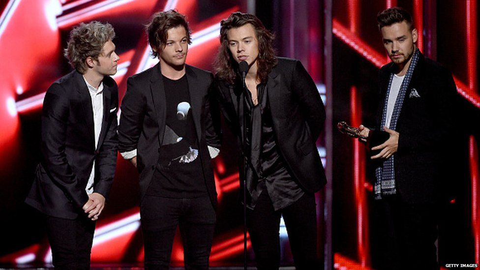 And then there were four... the first new single without Zayn on vocals