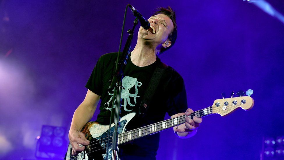Mark Hoppus from blink-182