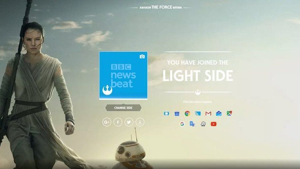 star wars theme launched for google apps with dark and light sides