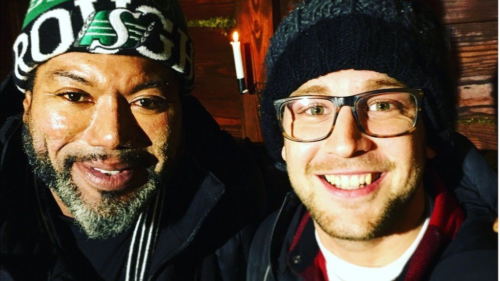 Christopher Judge with our gaming reporter Steffan Powell