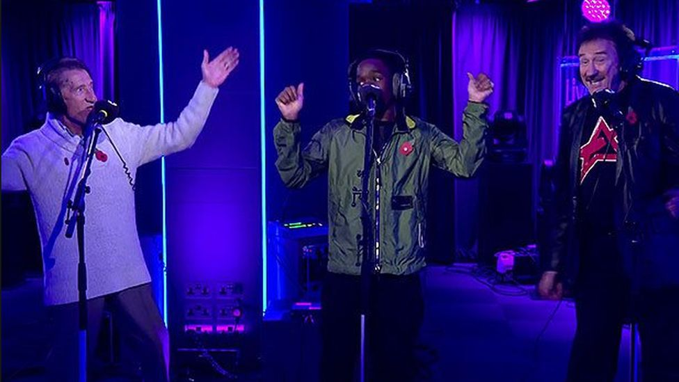 Tinchy Stryder and the Chuckle Brothers