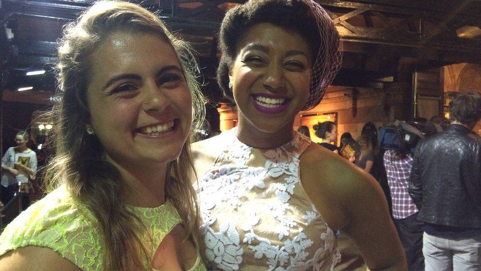 Leesha (left) and Lisa from Michigan