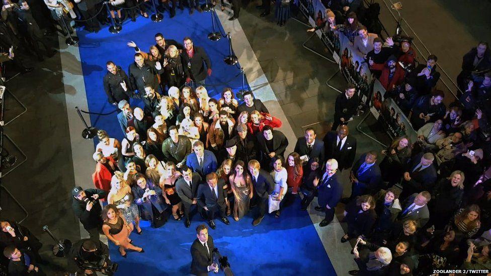 The record-breaking Zoolander 2 selfie