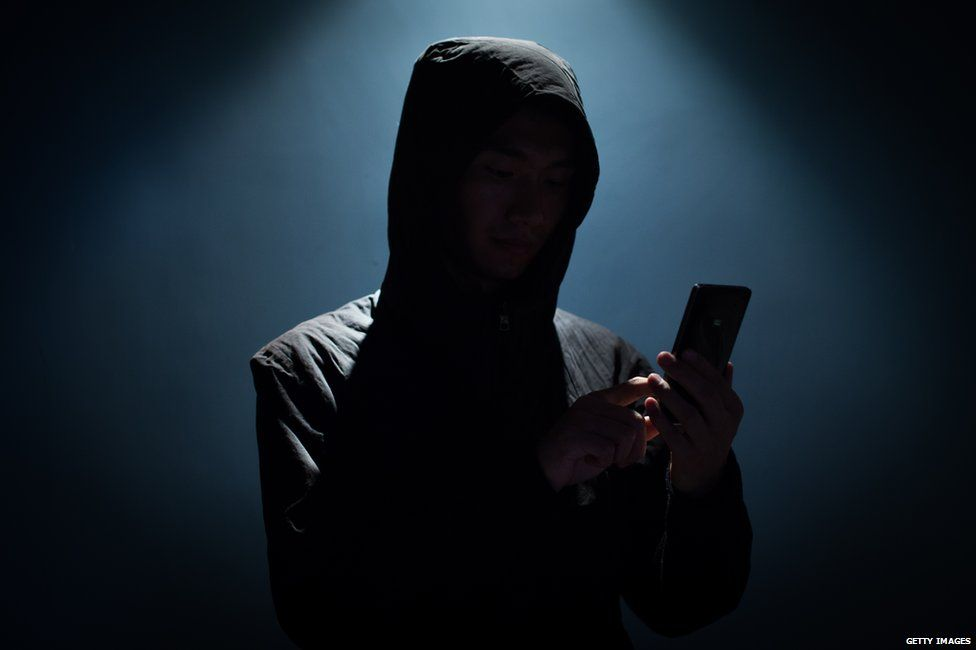 Actor portraying a hacker
