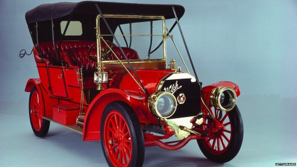 You may have driven a 1909 Welch 5 Passenger Touring car.