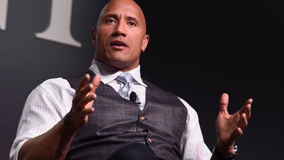 Dwayne Johnson, known as The Rock