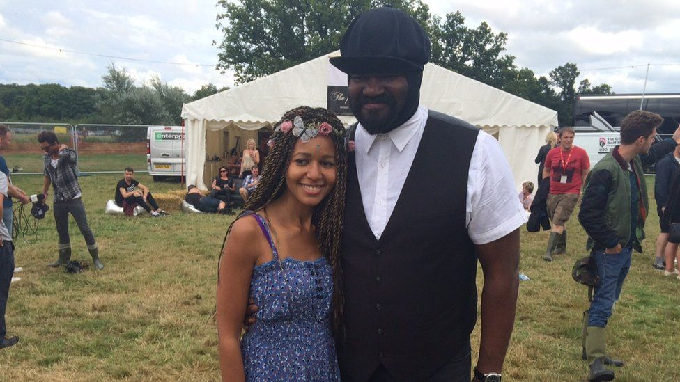 Sherry Davis and Gregory Porter