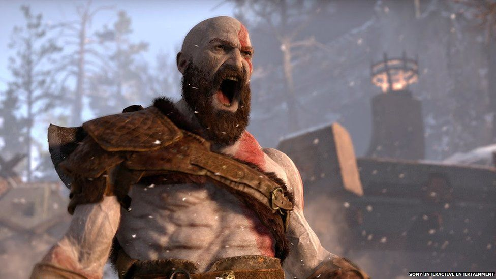 Playstation's God of War was one of the new games that impressed at E3