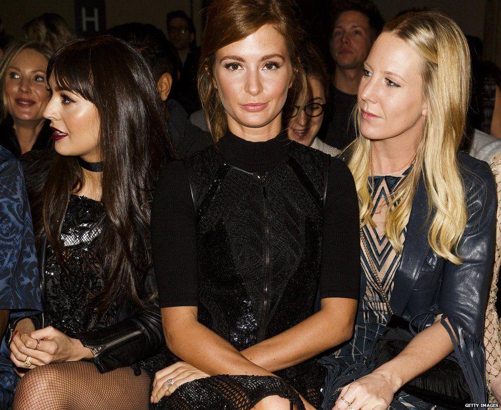Millie Mackintosh at London Fashion Week