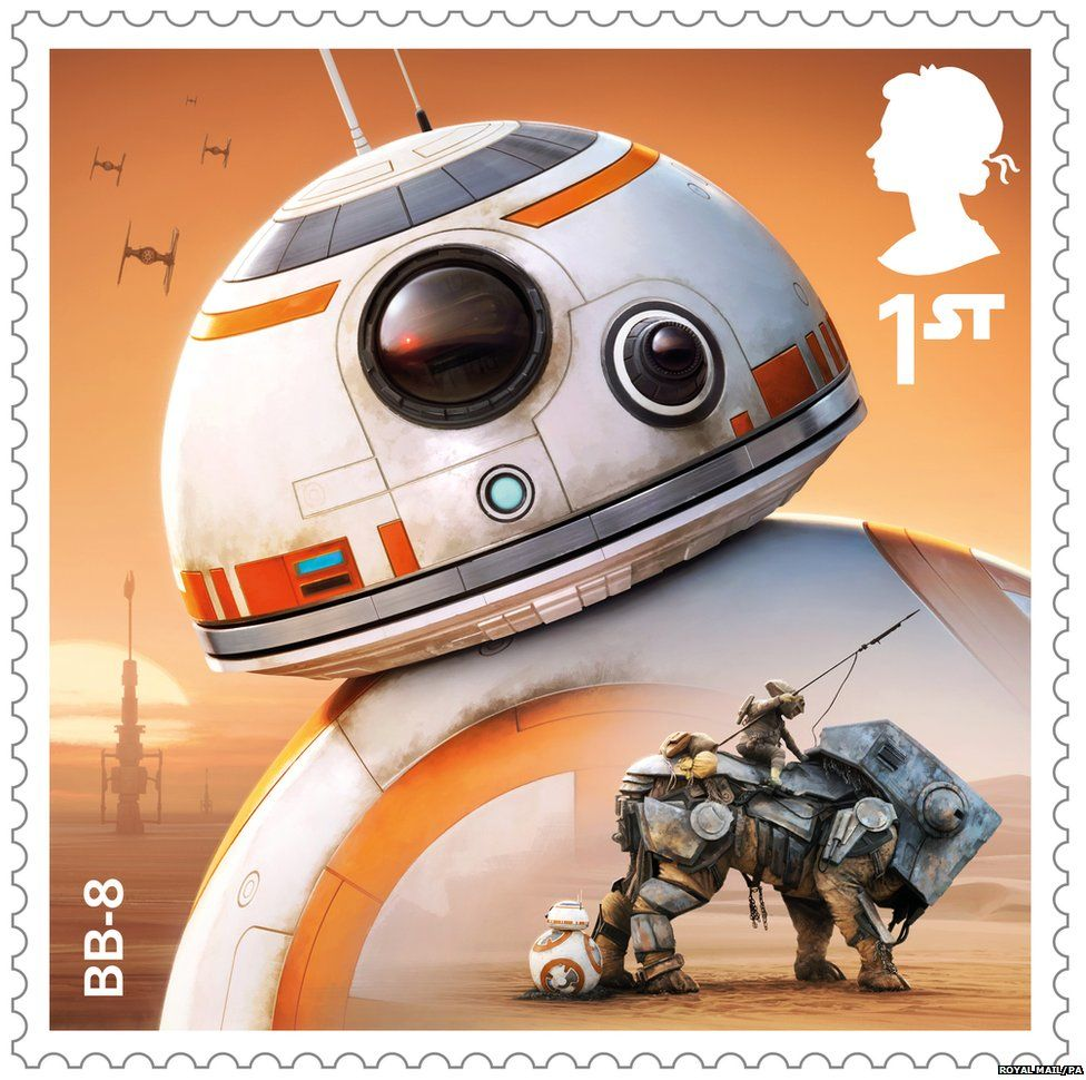 Special Star Wars Stamps Will Be Released In October To Mark