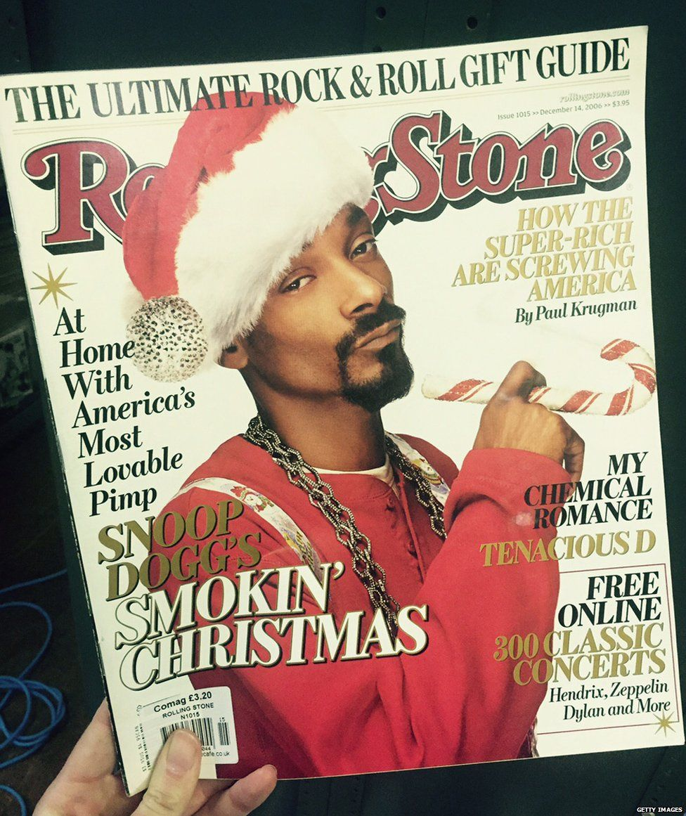 Snoop Dogg on the cover of Rolling Stone, 2006