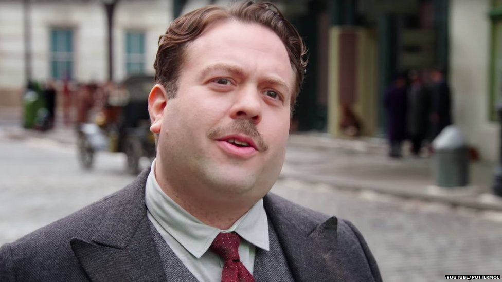 Dan Fogler in his role as Jacob Kowalski