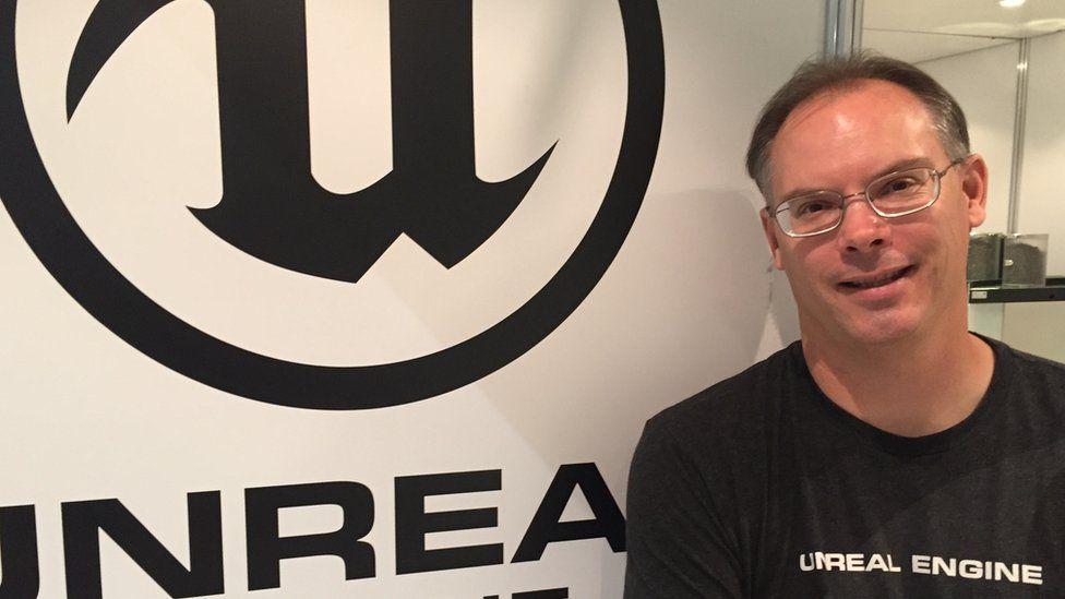 Tim Sweeney founder of Unreal Engine