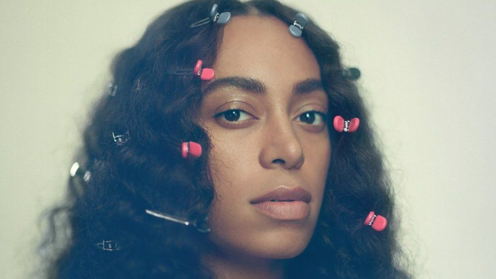 Album cover art for Solange's album A Seat at the Table