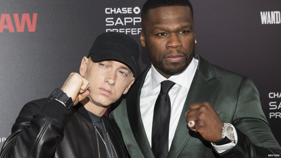 Eminem And 50 Cent And Dr Dre