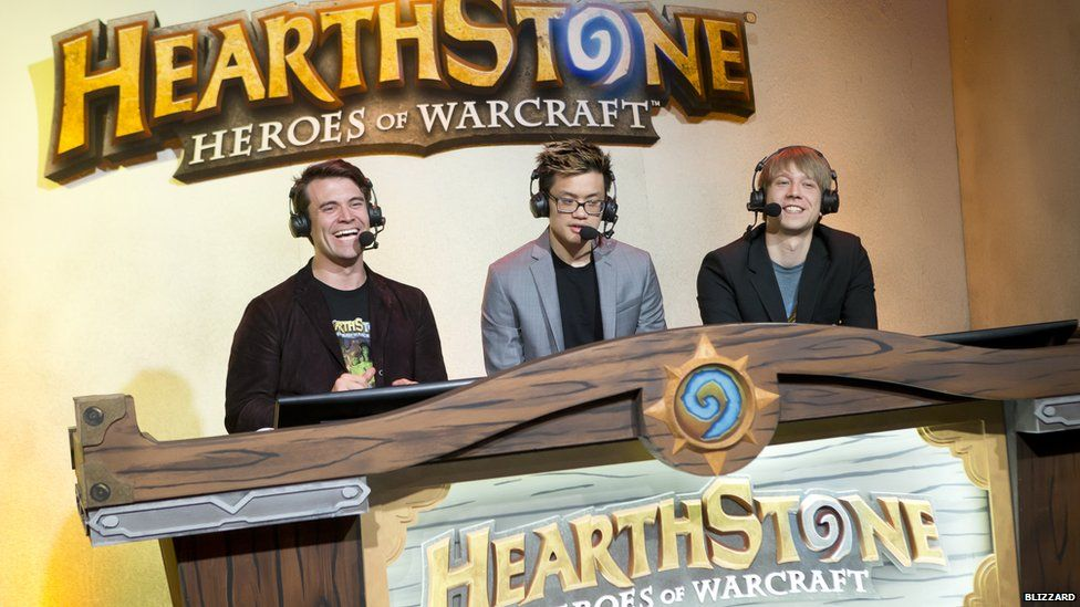 Hearthstone's popularity has seen it become one of the most popular eSports