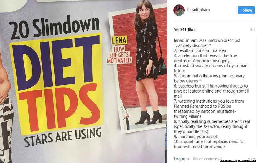 Lena Dunham blasts magazine for putting her on 'diet tips' cover