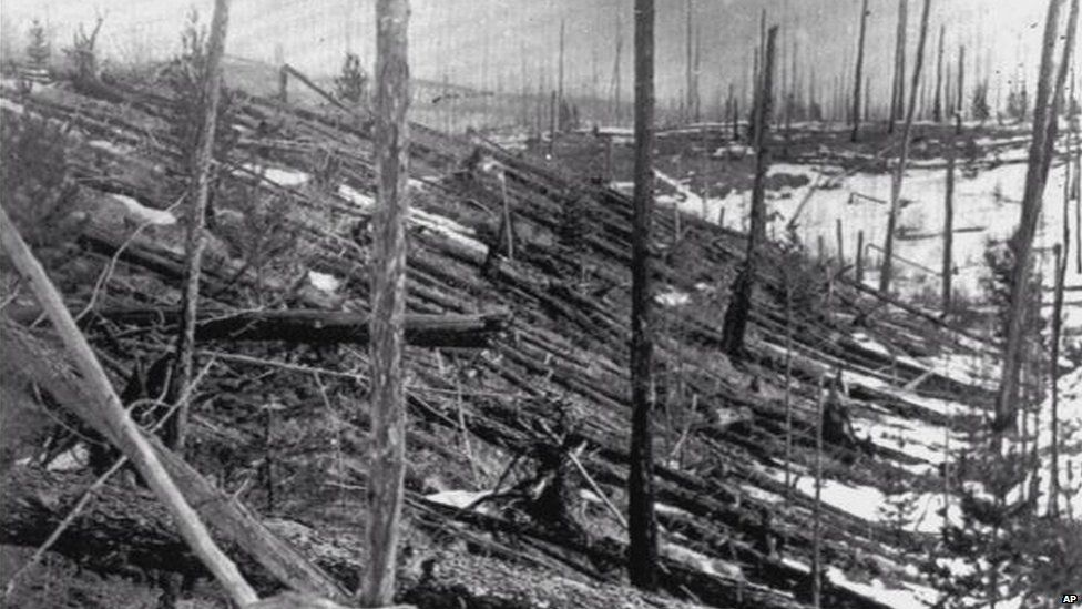 asteroid hits russia 1908 - photo #13