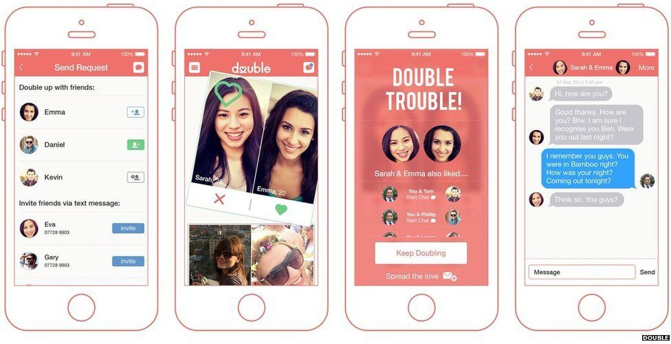 double up dating app How many dating apps do that we invented the double opt-in so that two people will only match tinder is the world's most popular app for meeting.