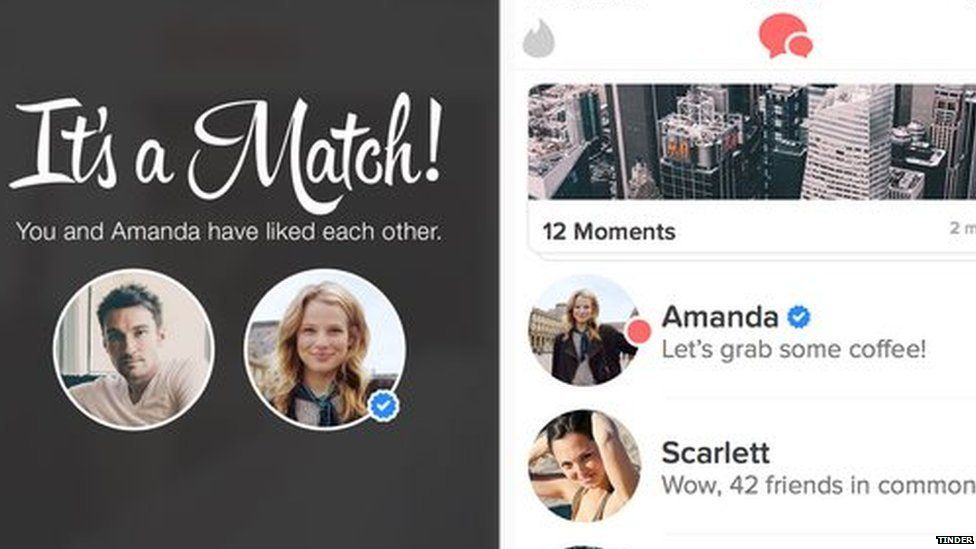Tinder gives celebrities blue tick to prove they're real - BBC Newsbeat