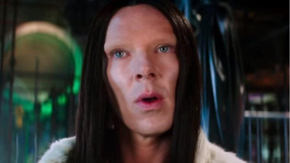 Benedict Cumberbatch playing 'All' in the Zoolander 2 trailer