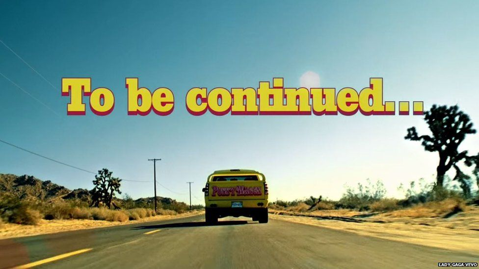 A still of the YouTube video that reads: To be continued...
