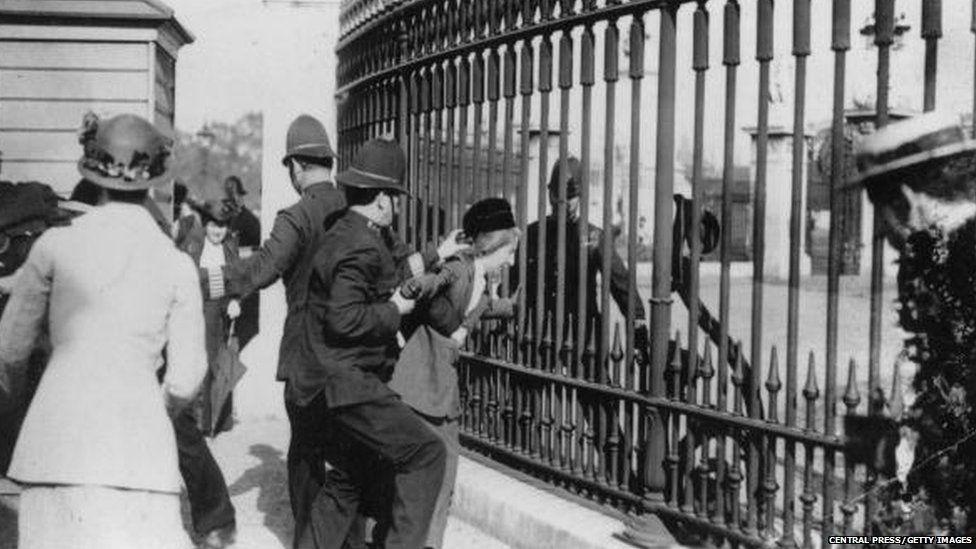 Suffragette tactics