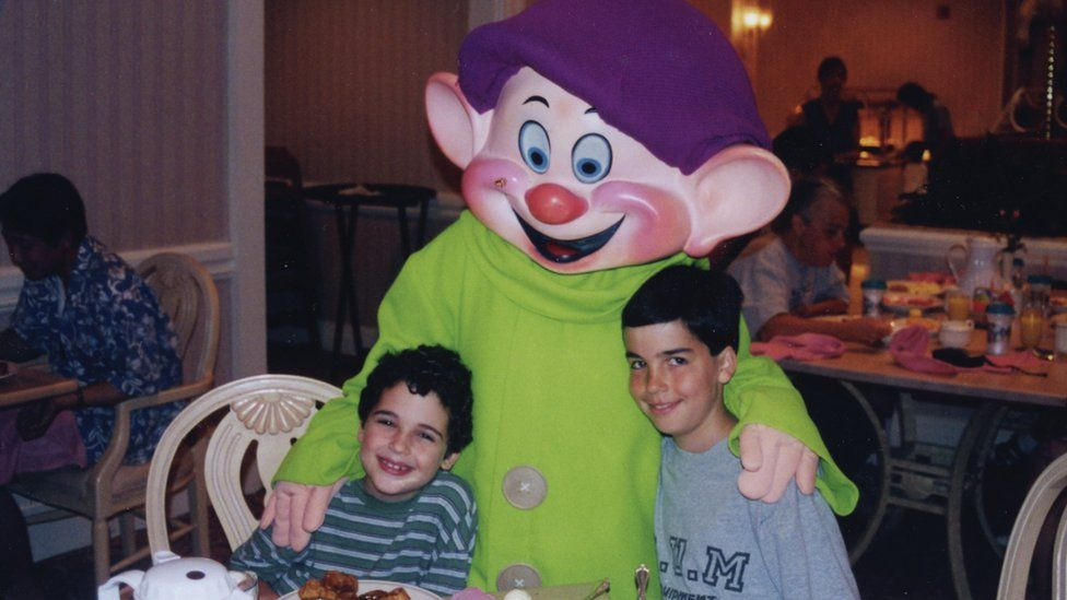 Owen and Walter Suskind with Dopey