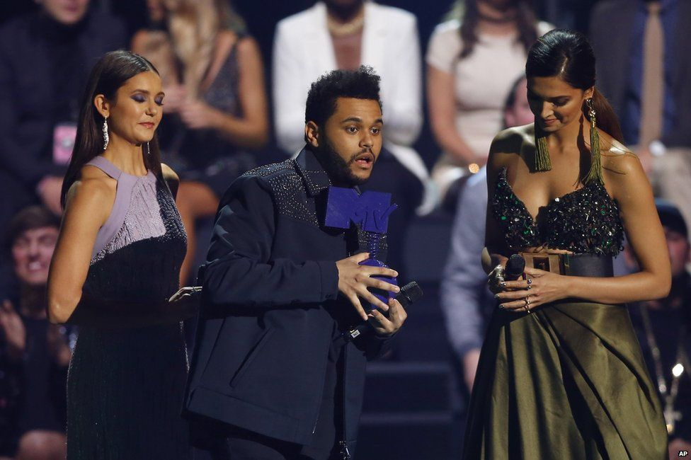 Nina Dobrev, The Weeknd and Deepika Padukone