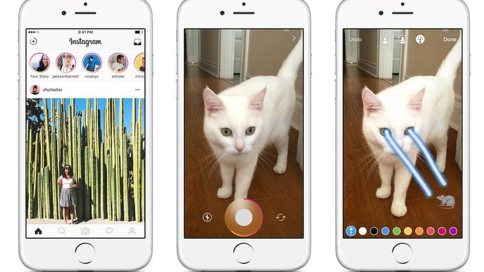 Instagram's new stories feature
