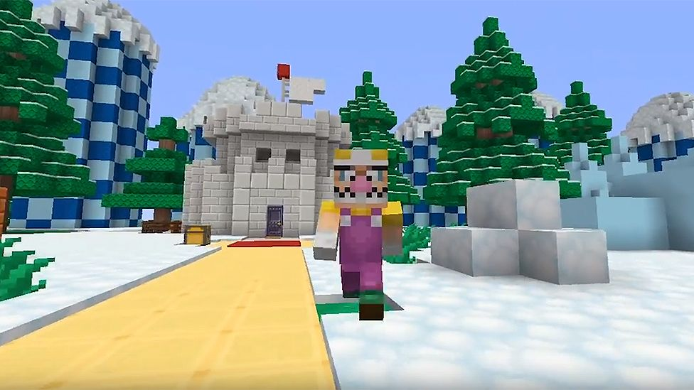 Free Mario Download For Minecraft Players Bbc Newsbeat