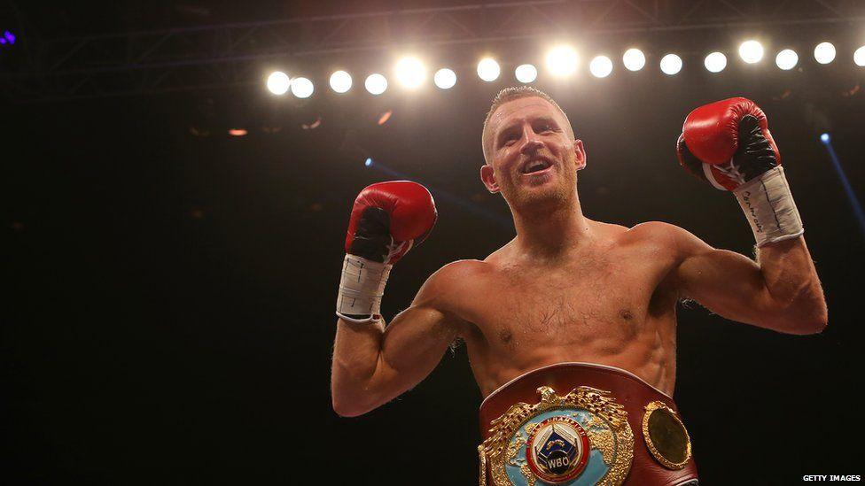 Orlando Cruz's opponent, Terry Flanagan