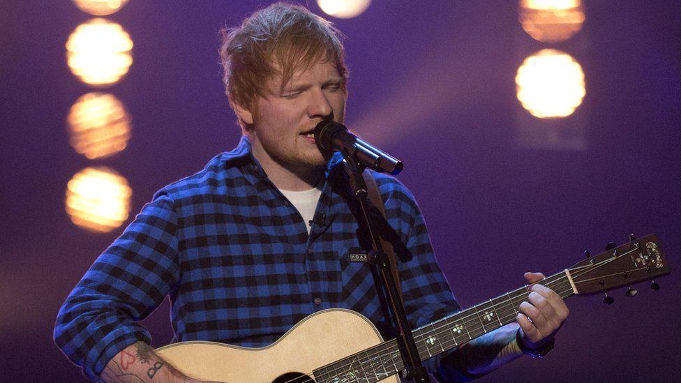 Ed Sheeran says he's