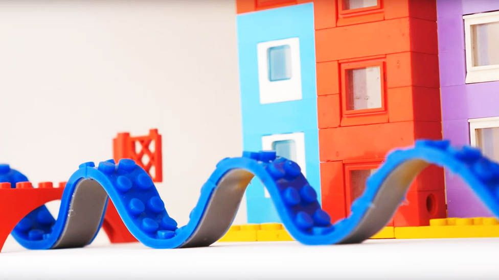 This new 'Lego tape' could change how you build with bricks - BBC ...