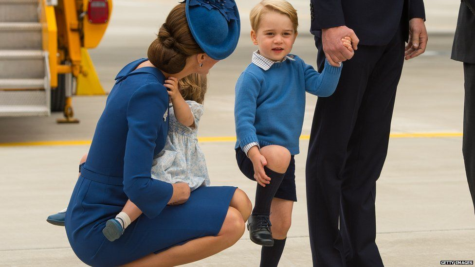 Prince George in Canada