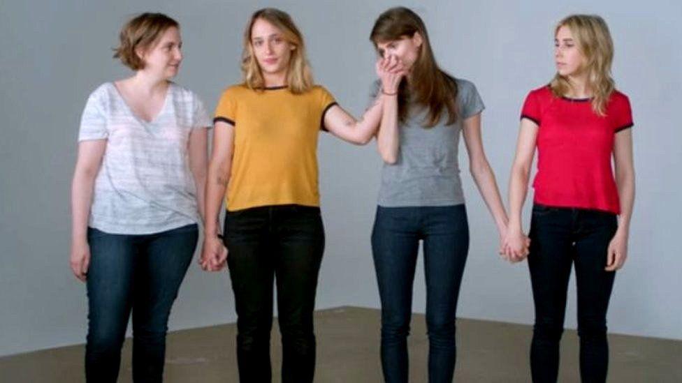 Lena Dunham, Allison Williams, Jemima Kirke and Zosia Mamet
