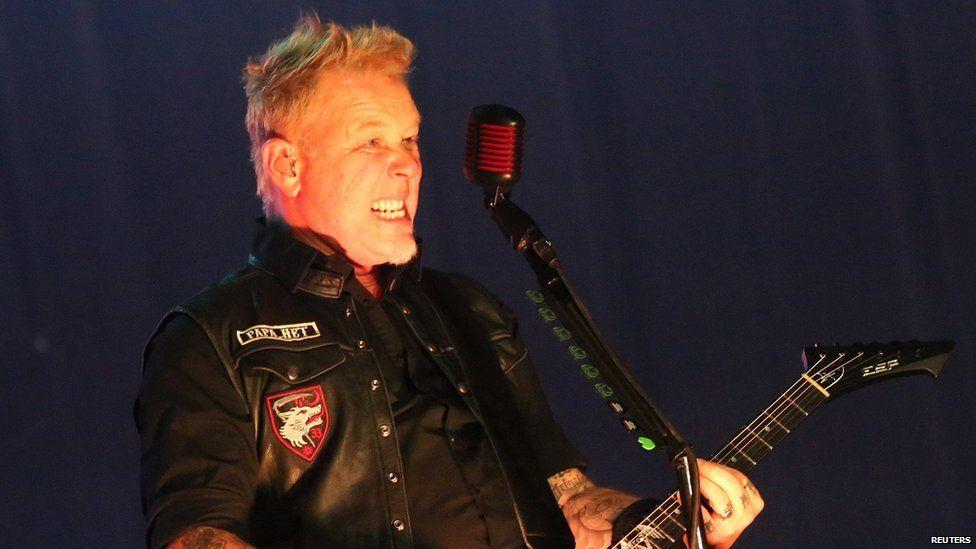 James Hetfield from Metallica