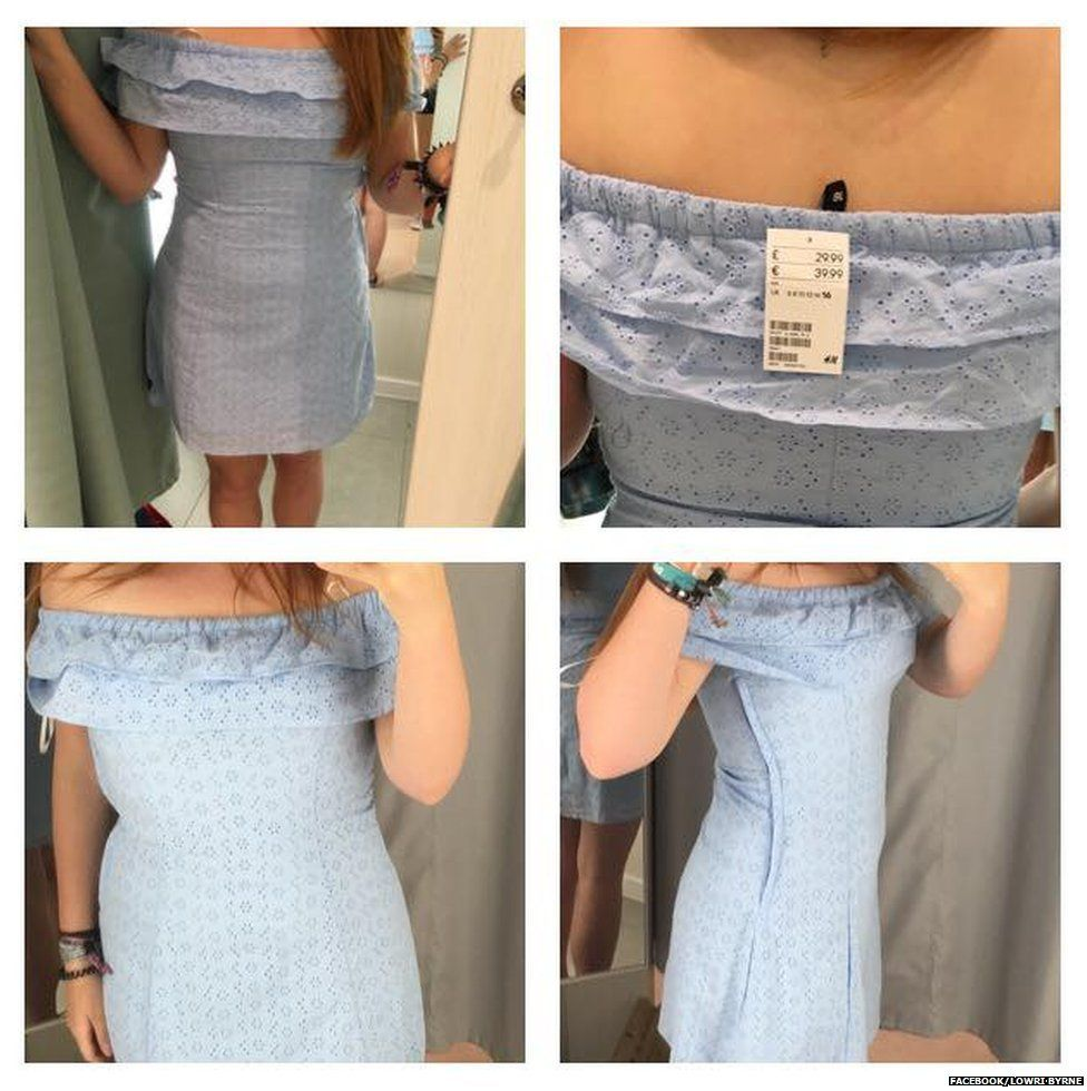 Size 12 student criticises H&M after struggling to fit into ...