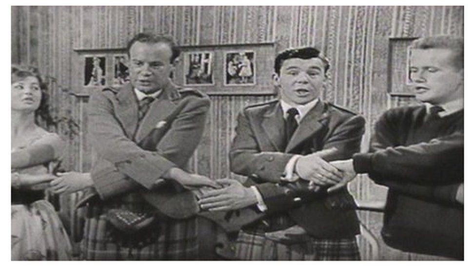 """Entertainer Andy Stewart always knew when to """"gie a hand"""""""
