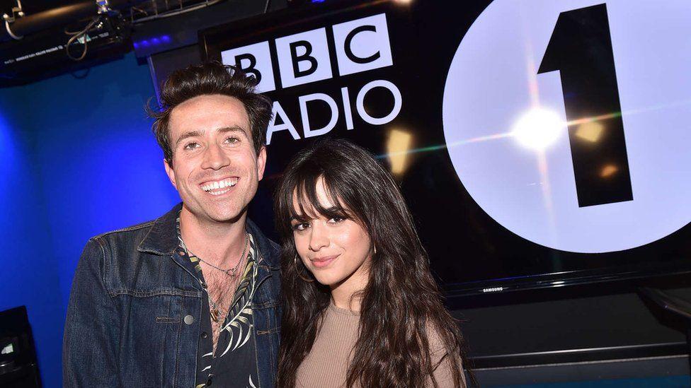 Nick Grimshaw and Camila Cabello
