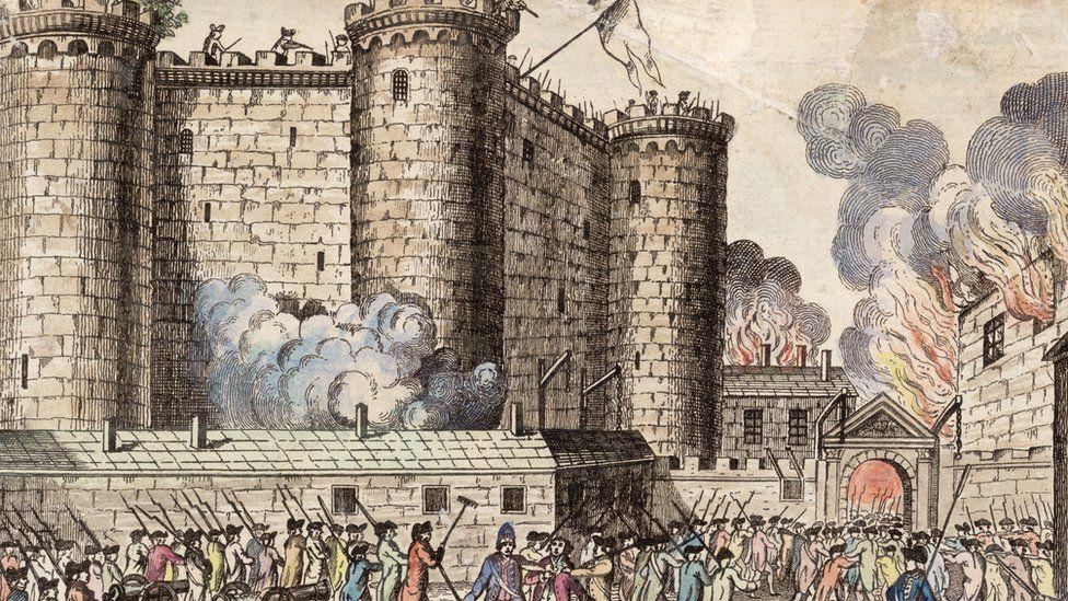 The Bastille prison