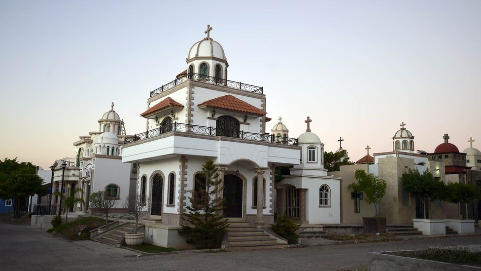 Mexican tomb