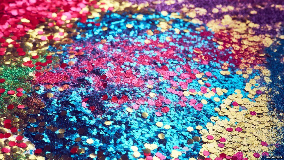 the eco friendly guide to glitter bbc newsbeat