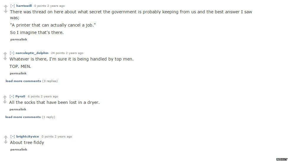 Reddit users joke about Area 51